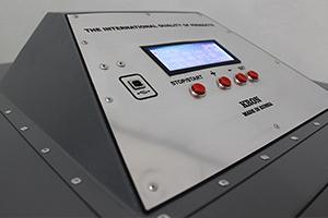 Панель управления автоматизированным зарядным устройством УЗА-150-80