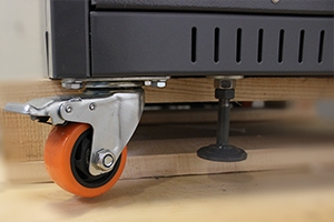 Стопорное колесо установленное на зарядном устройстве УЗА