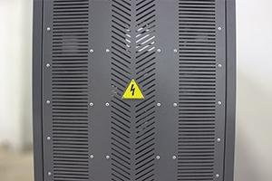 Фотография задней и передней стенок с вентиляционными отверстиями