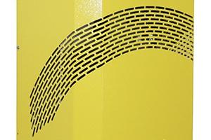 Фотография вентиляционной решетки устройства Tatkraft